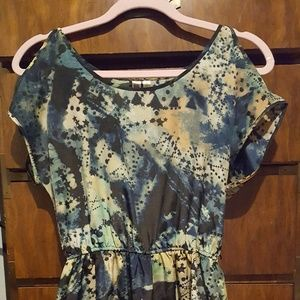 Galactic 80s Style Dress -- Never Worn!